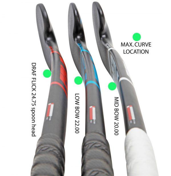 verschillende bogen solo hockeysticks